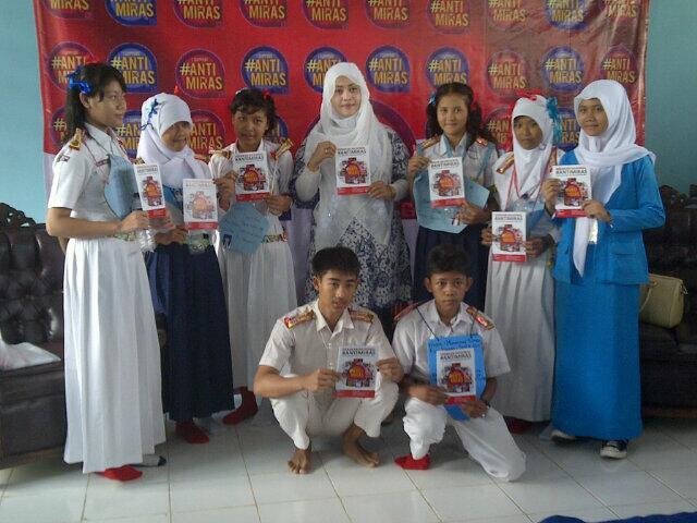 #AntiMiras Goes To School di SMK Prisma Depok
