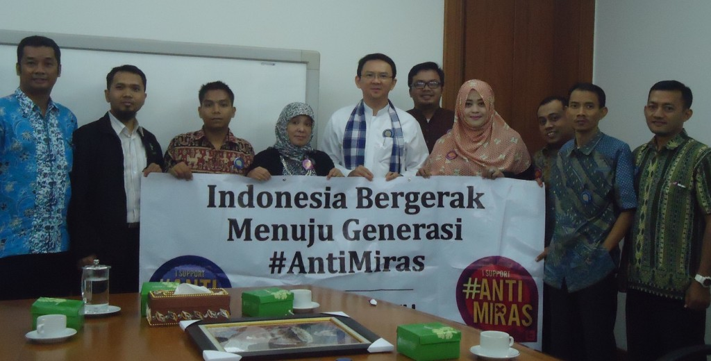 Anti Miras Audiensi Ahok