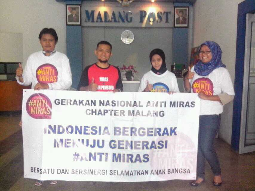 Anti miras chapter Malang