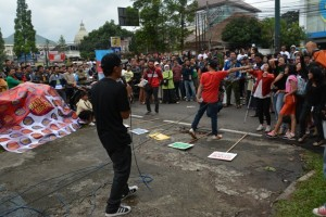 Penampilan Rapper Bandung support GeNAM
