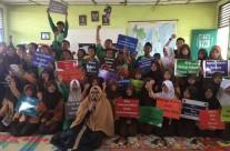 Genam Go To School Ke SMP Islamy Palembang